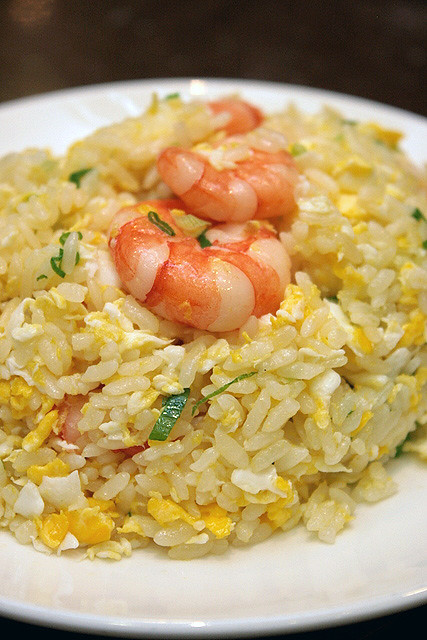 Fried Rice with Shrimp & Egg 虾仁蛋饭, S$10.00