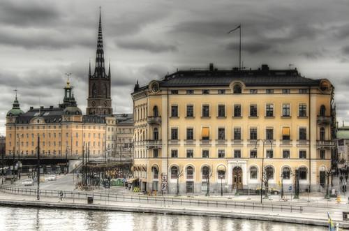 Estocolmo. Riddarholmen desde Södermalm
