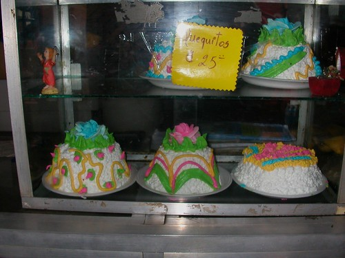 June 9 2010 mini cakes at Masaya bakery