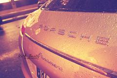 Panamera .. (- M7D . S h R a T y) Tags: paris car rain drops drop porsche panamera wordsbyme allrightsreserved
