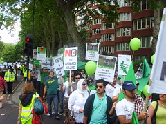 (8) (sabzphoto) Tags: uk people london iran britain crowd protest  iranelection