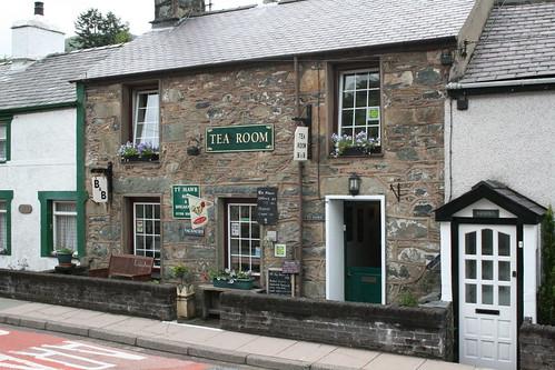 Ty Mawr tearoom, Rhyd Ddu