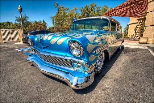 56 chevy wagon