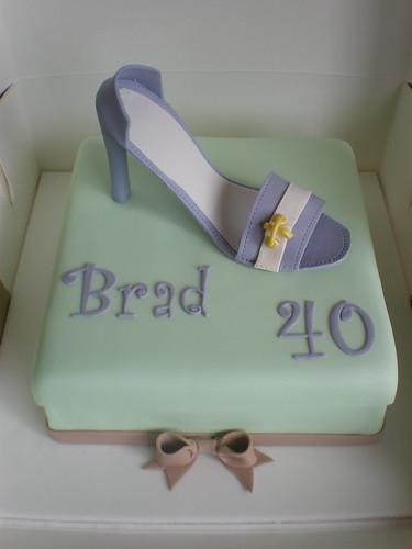 Shoe Cake - Brad ?!