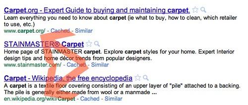 exact Google match