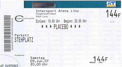 Ticket for Placebo in Linz