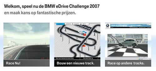 Online game: BMW eDriveChallenge 2007