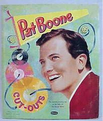 Pat Boone Cut-out Doll