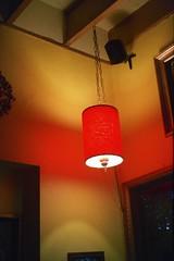 Redlit (shetha) Tags: light lamp corner iso400 ceiling gsn yashica fujisuperia yashicaelectro35gsn datenight electro35 pixpatisserie sepdx