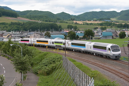 North Rainbow Express as Furano Lavender Express