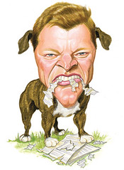 Satirical image of Jim Inhofe