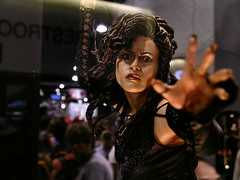 Comic-Con Bellatrix doll