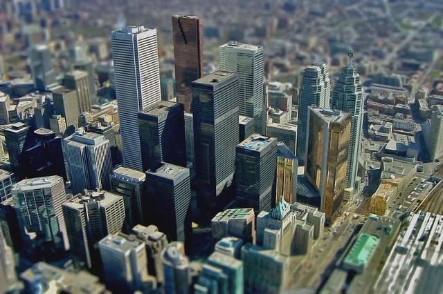 Very Small Downtown Toronto