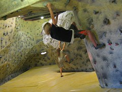 Andrew Audrey Bouldering