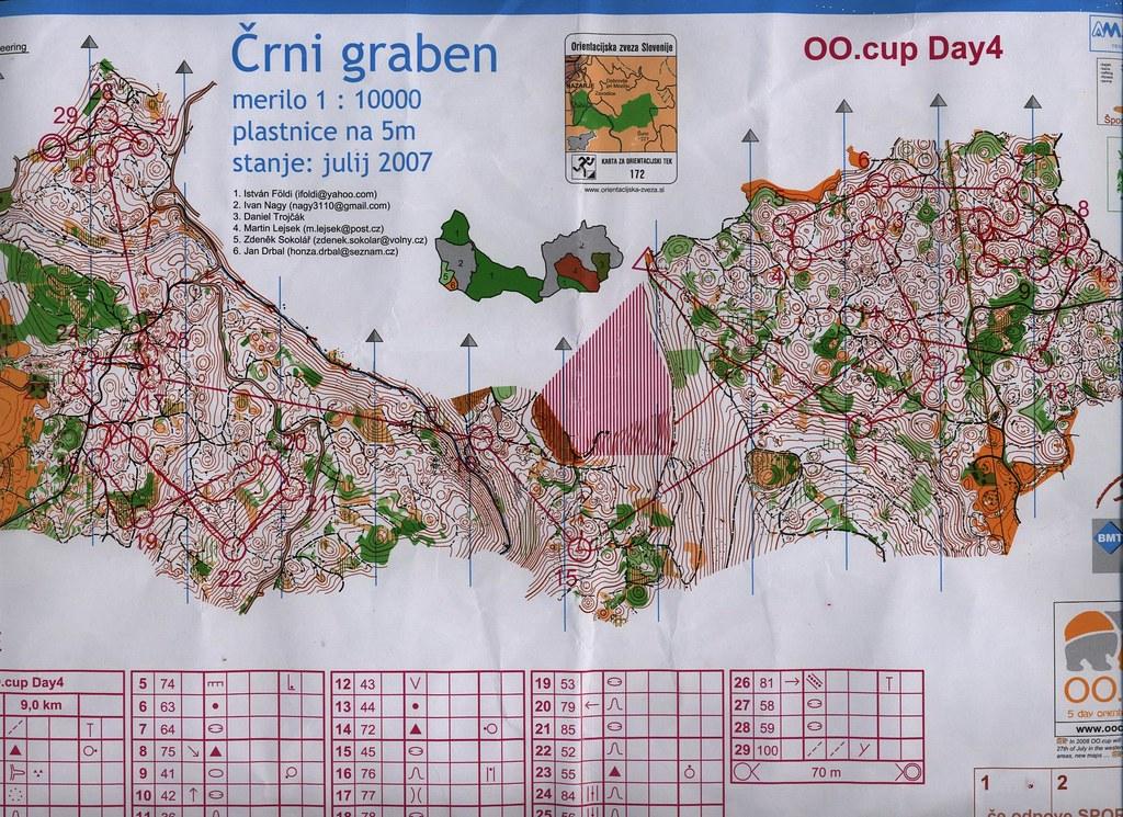 OO.Cup 4.nap - Térkép