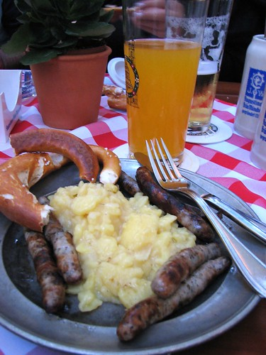 German dinner by Conanil, on Flickr
