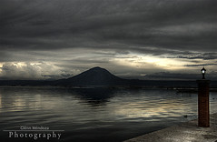 Day's End - Taal Lake (Glenn Mendoza) Tags: batangas taallake d80 aplusphoto glennmendoza photoshoproyalty