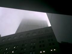 Raining in Lower Manhattan