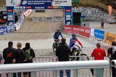 UCIFtBillDH16 (wunnspeed) Tags: scotland europe mountainbike downhill worldcup fortwilliam uci