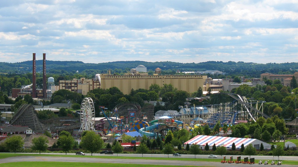 View of Hershey Park