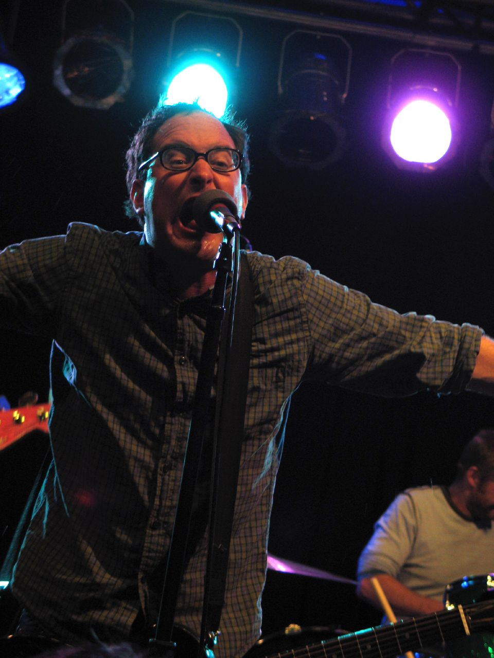 Craig Finn of the Hold Steady, who are set to release Stay Positive