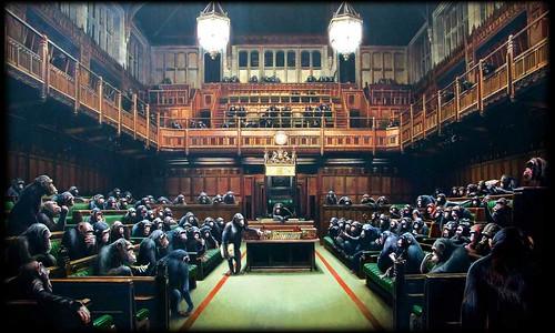 Banksy monkey_parliament2