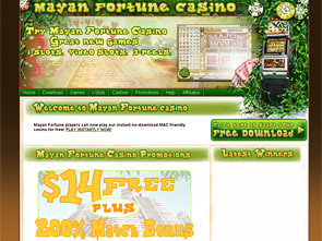 Mayan Fortune Casino Home