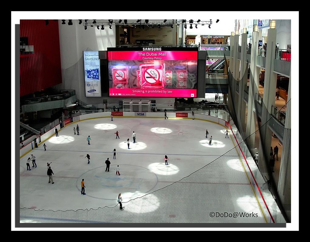 ICE Rink @ The Dubai Mall