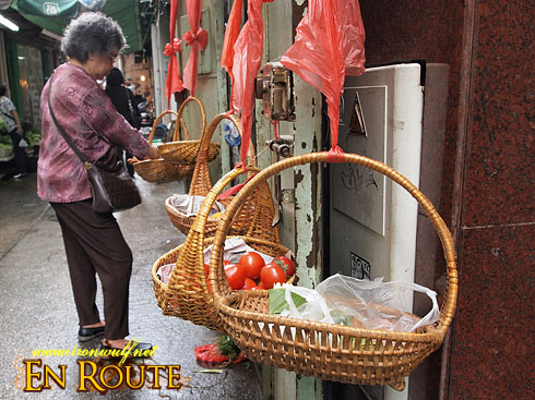 Macau Old Town Fruit Baskets