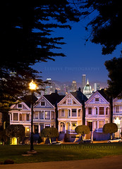 I Fell In Love In California (Jinna van Ringen) Tags: sanfrancisco longexposure nightphotography night canon photography evening unitedstates ringen unitedstatesofamerica baybridge slowshutter elusive van frisco paintedladies alamosquare jorinde jinna canon70200mml canoneos5dmarkii elusivephoto elusivephotography 5dmarkii jorindevanringen jinnavanringen