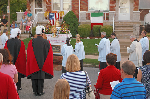 Saint Ambrose Roman Catholic Church, in Saint Louis, Missouri, USA - Corpus Christi Procession 2