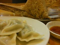 中華食堂一楽のちまきと水餃子
