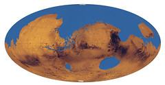 Posible océano en Marte
