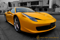 Ferrari 458 Italia | Riyadh - Saudi Arabia (Tareq Abuhajjaj | Photography & Design) Tags: red wallpaper italy black yellow speed photo high nikon italia top background gray pic ferrari exotic saudi arabia fiber rims 1770 riyadh v8 ksa 458 tareq           d700     foilacar  tareqdesigncom tareqmoon tareqdesign abuhajjaj  wwwtareqdesigncom