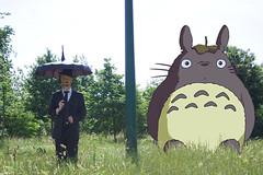 LeLundi (Dwam) Tags: paris green umbrella totoro tonarinototoro parapluie mrpan dwam