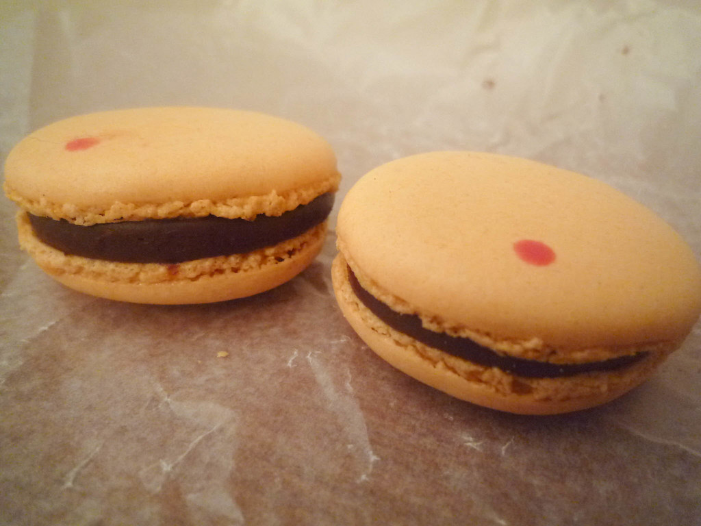 Sample macarons