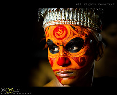 Theyyam (EXPLORED) - An art of transformation of man to God (Sreelal TS) Tags: drisyam2010exhibit kcbestshot2010