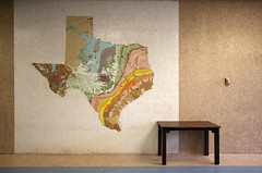 texas geology map and table (xgray) Tags: color colors wall digital canon austin tile table 350d ut colorful texas state map mosaic wideangle universityoftexas geology rebelxt ultrawide 1022mm thermostat utaustin geologic ef1022mmf35 top20texas