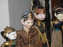 Four Javanese Puppets