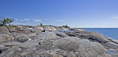Kalliot ja meri (villoks) Tags: blue sea sky 3 tag3 taggedout finland out tag2 tag1 tag tagged 2007 uwa kustavi canon1022mmefs bw77mmcircularpolarizerwideangleslimmount