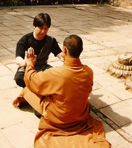 1997training inside temple