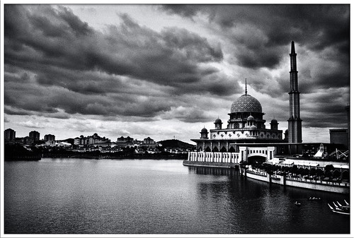Putrajaya Mosque In Twilight