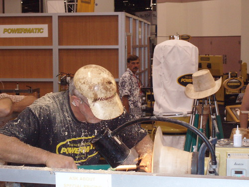 Johannes Michaelsen Turning Wood Hats for Powermatic