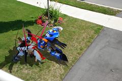 Gundum Action in my front yard (Mortaric) Tags: nikon action gundam challenge 18135 d40