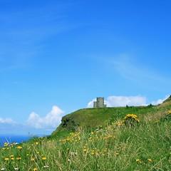 O'Briens Castle (limerickdoyle) Tags: ireland green castle clare atlantic burren cliffsofmoher westofireland seaviews castleviews obrienscastle canon400d