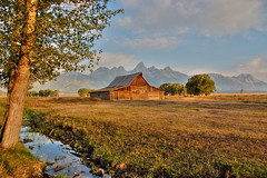 moulton barn (MatthewPHX) Tags: arizona state fair wyoming tetons 2008 grandteton hdr mention honorable grandtetonnationalpark honorablemention photomatix flickrsbest singlejpg moultonbarn 2008arizonastatefair