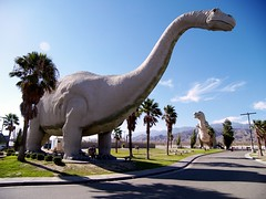 Cabazon Dinosaurs by Victor Solanoy
