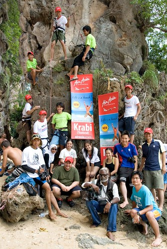 Railay Group Shot