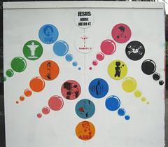 finished display befor the Free Art gets distributed [vinyl solution] Greenbelt festival (asboluv) Tags: records death bubbles soul greenbelt uploadin