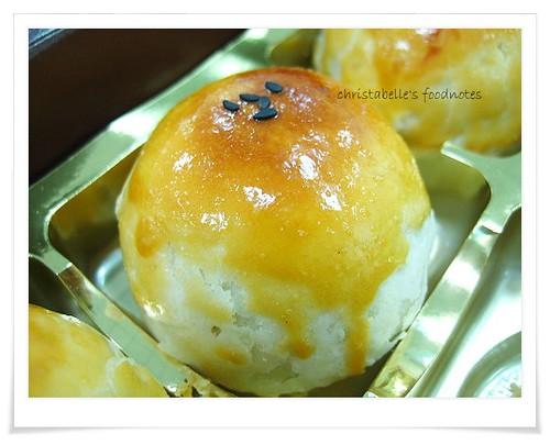 基隆詠盛餅店蛋黃酥 Yolk Moon Cake